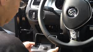 how to access the dashboard fuse box in a volkswagen golf mk vii