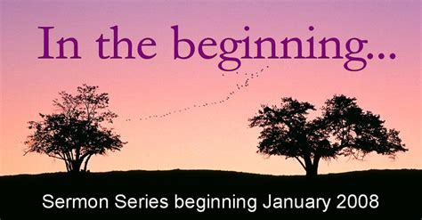 the way new sermon series for a new year