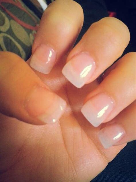 simple acrylic nail painting ideas simple clear acrylic nails nail