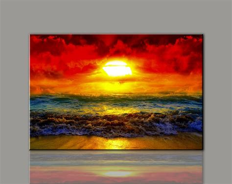 acrylic paint for large canvas aliexpress buy painting canvas wall picture