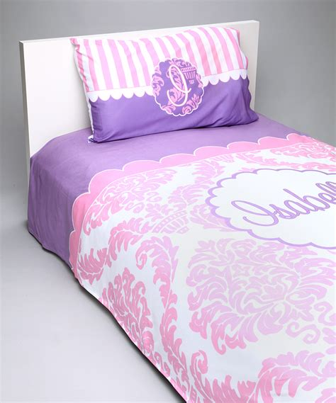 pink damask bedding pink white purple damask bedding set personalized