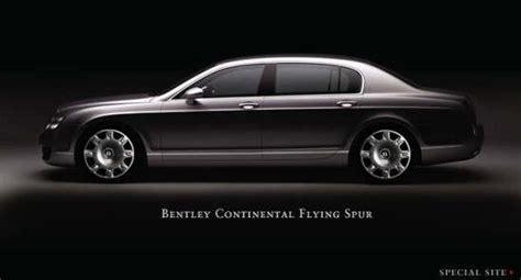 bentley continental flying spur black asi bentley continental flying spur pictures