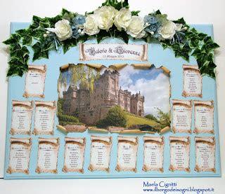 castelli in tavola il borgo dei sogni tableau castelli in bianco e azzurro