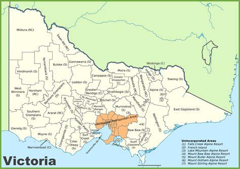 printable maps victoria victoria australia map besttabletfor me
