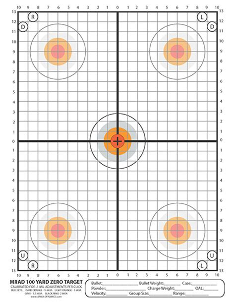 printable ar 15 zeroing targets arma dynamics printable targets pretty awesome page 1