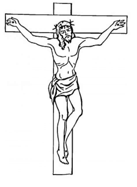 jesus died on cross coloring page on the cross printable coloring pages of jesus for kids