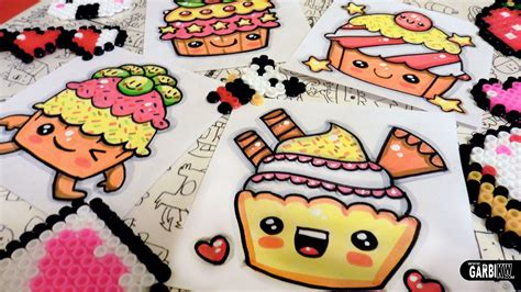 Flower Salad 3l how to draw kawaii cupcakes by garbi kw