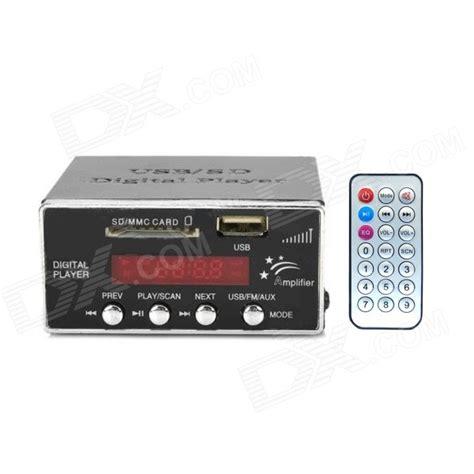 Usbsd Digital Player Silver 1006 digital car mp3 player w fm usb sd slot 3 5mm remote black silver