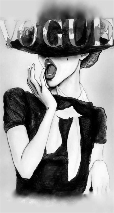 fashion illustration iphone vogue illustration iphone wallpaper wallpaper