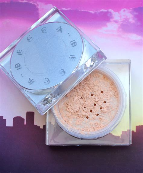 becca soft light blurring powder the beauty of becca soft light blurring powder in golden