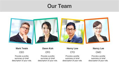 members page template team member templates presomakeover