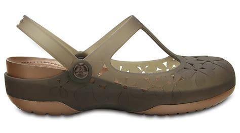 Sandal Crocs Carlie Maryjane Flower Bunga crocs womens carlie flower ebay