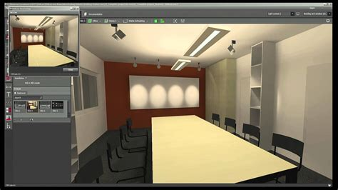 Interactive Room Design 7 dialux evo raytracer youtube