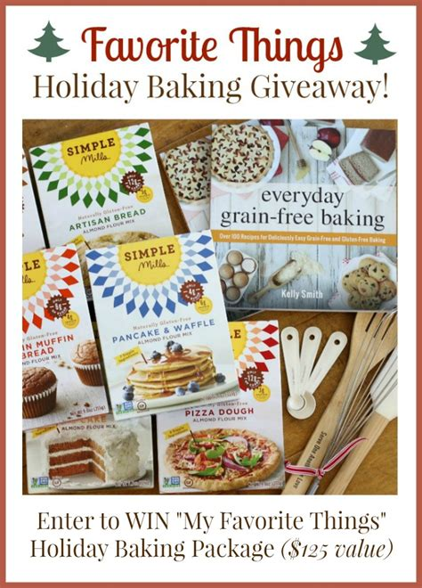 Christmas Food Giveaways - favorite things ultimate christmas giveaway the nourishing home