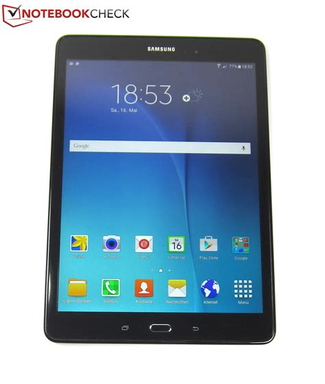 a samsung tablet samsung galaxy tab a 9 7 sm t555 tablet review notebookcheck net reviews