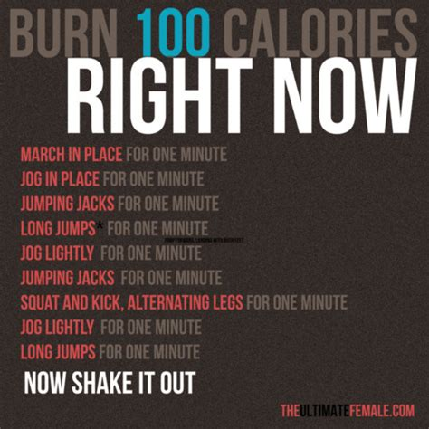 burn 100 calories in one minute lesley voth