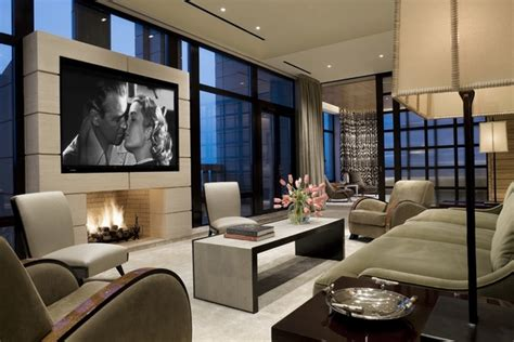 Cool ideas for mounting a TV over a fireplace in the living room