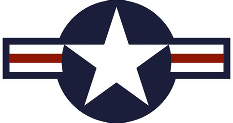file roundel of the usaf svg wikimedia commons
