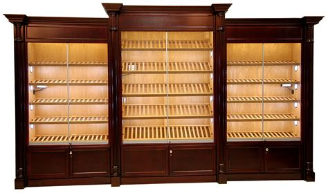 cigar humidor display cabinet humidor store model 8200 classic display humidor