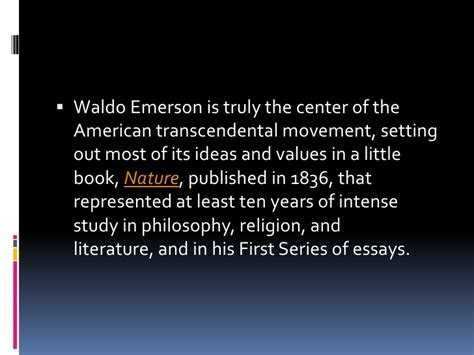 themes of the essay nature by emerson emerson nature essay ralph waldo emerson ayucar com