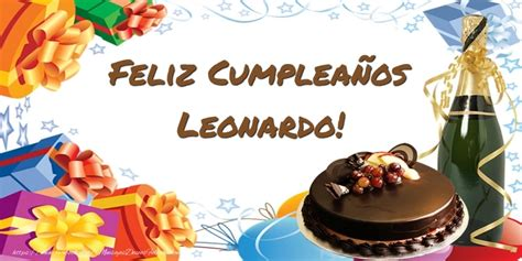 Imagenes De Feliz Cumpleaños Leonardo | feliz cumplea 241 os leonardo felicitaciones de cumplea 241 os