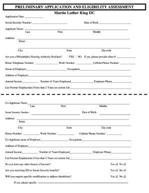 philadelphia housing authority application philadelphia housing authority form pdf fill online printable fillable blank