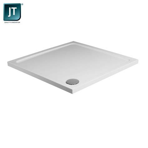 shower tray jt fusion low profile square shower tray uk bathrooms
