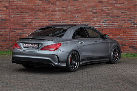 mercedes amg 45 facelifted mercedes amg 45 gets horsepower injection