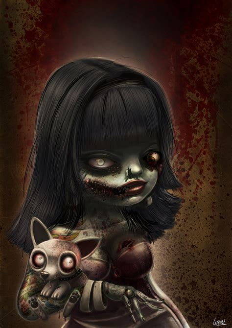 zombie by liransz on deviantart