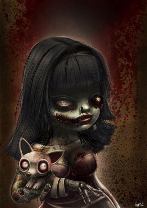 zombie by liransz on deviantart