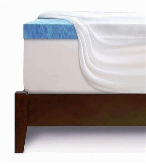 Serta Memory Foam Mattress Topper Serta 3 Quot Gel Memory Foam Mattress Topper Size At Menards 174
