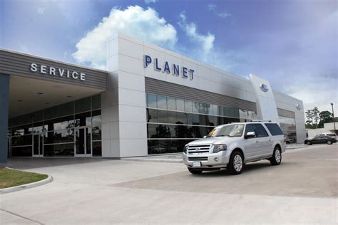 Planet Ford Reveals Ford Showroom, Service Drive   Planet