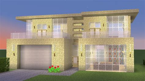 how to build a house minecraft how to build a modern sandstone house