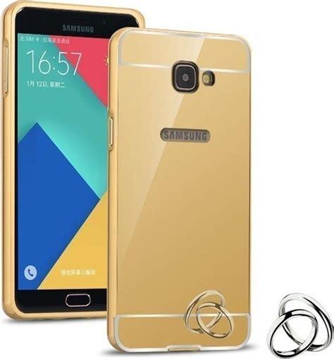 Bumper Mirror Slide Samsung Galaxy A3 2016 A310 oem back cover bumper mirror aluminum gold samsung galaxy a3 2016 skroutz gr