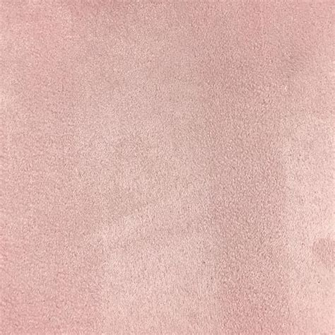 Pale Pink Velvet Upholstery Fabric Heavy Suede Microsuede Fabric By The Yard Available In