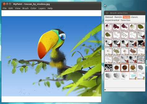 paint software a professional digital painting software for ubuntu linux