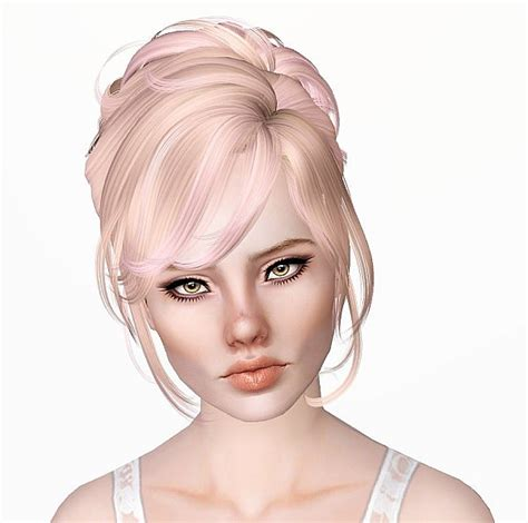 sims 3 american hairstyles the sims 3 newsea s crescent hairstyle retextured by monolith