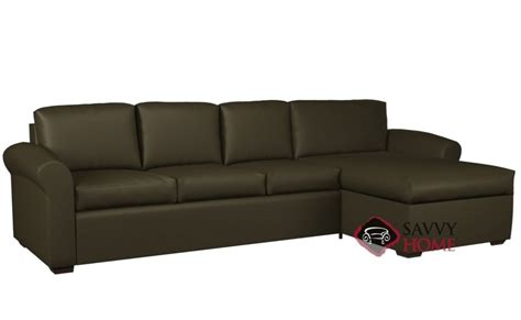 lazar lounge sectional eclipse leather chaise sectional by lazar industries is