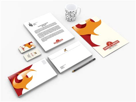 grill logic corporate identity kit whale shark studio