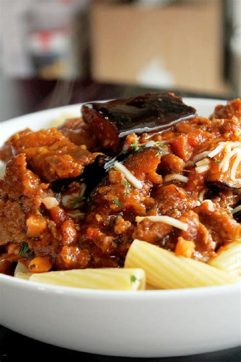 Todays Special Pasta With Sausage Basil And Mustard by Pasta With Eggplant Sausage And Pancetta Creole Contessa