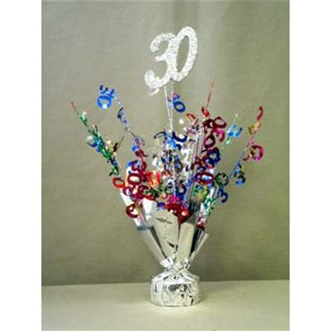 30th birthday table centerpieces 30th birthday centerpiece balloon weight ebay