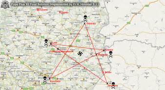 Complex system of detention camps torture camps and sacrifice camps