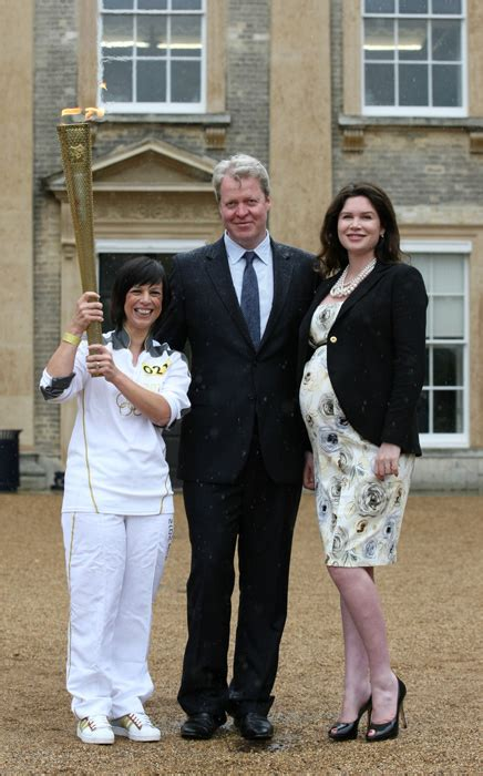 karen spencer countess spencer earl spencer happier than ever ahead of the birth of his