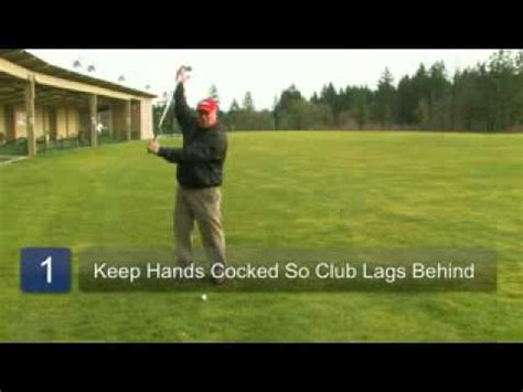 creating lag in the golf swing golf swing tips how to create lag in a golf swing must