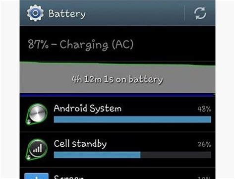 android os battery drain how to reduce battery drain on your samsung galaxy s3 by fixing android system usage 171 samsung