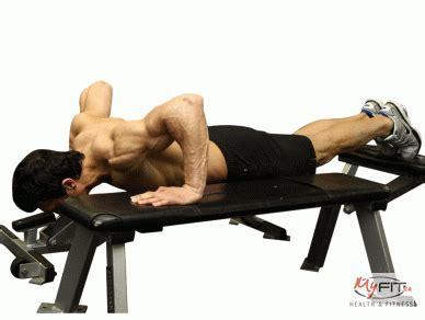 backwards push up bench push ups between benches push up exercise myfit