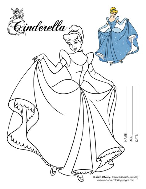 cinderella cartoon coloring pages pin cinderella coloring pages on pinterest