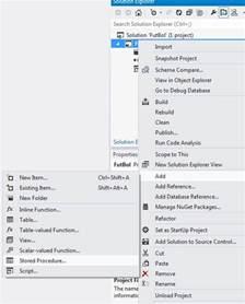sql server stored procedure template add a stored procedure in ssdt