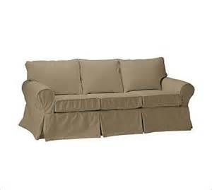 Sleeper Sofa Covers Pb Basic Sleeper Sofa Slipcover Brushed Canvas Traditional Slipcovers And Chair Covers
