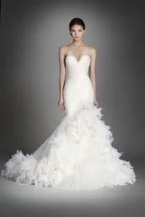 Lazaro fall 2015 wedding dresses the elegant gowns